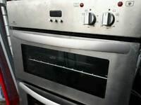 Double oven.