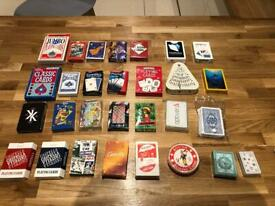 Job lot: X29 decks of playing Cards, new