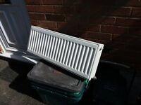Double panel radiator - Kudox - white - 800 x 300