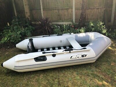 Bombard Max3+ 3 person Inflatable Rib Boat with Yamaha 2.5hp Outboard Motor