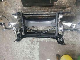 2016 BMW 1 series F20 M sport Slam panel crash bar front bumper reinforcer