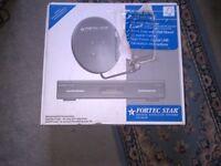 1 Fortec Star FS 4000 v2 Digital Satellite System for sale