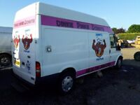 Catering trailers catering vans lpg equipment setup Gas griddle bain marie chip fryer
