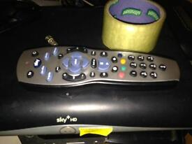 Sky + hd box and x2 remote