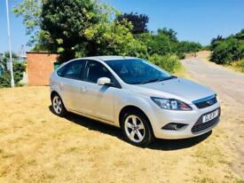 FORD FOCUS 1.6 ZETEC, MOT June 2019, Goos Service History, Looks and drives superb (silver) 2010