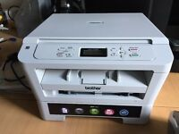 Brother DCP-7055 All-in-One Laser Printer Scanner Black and White in good used conditions