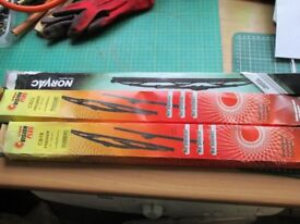 Three Sets NEW Windscreen wipers 2 x 22inch 1 x 19inch