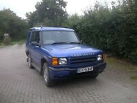 LAND ROVER DISCOVERY TD5 2001 BLUE MANUAL