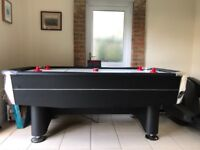 Vortex 7ft Air Hockey Table excellent condition