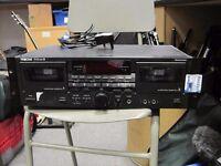 Tascam 202mk 3 Pro double tape deck