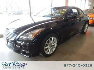 2012 Infiniti G37X Premium Coupe AWD - LTHR/SUNROOF/CAMERA