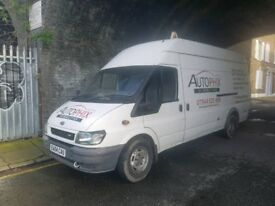 Ford Transit commercial Tyre Van for sale