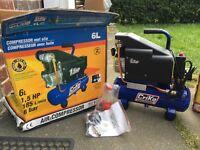 Brand new 6L air compressor