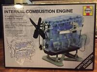 Build your own Interna combustion engine by Haynes