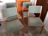 Dining room / kitchen chairs x 4