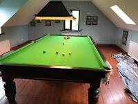 Full Sized Snooker Table and Accessories £700