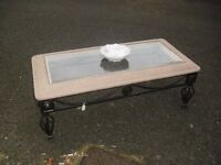 "Most Unusual Metal Based Decorative Coffee Centre Table ""Cheep To Clear"""