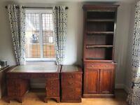 4 Piece Victorian Style Office Set
