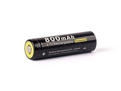 Soshine 14500/AA - 800mAh 3,6V - 3,7V  Li-Ionen Akku PCB geschützt