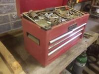 Tool box, top box, tools, spanner's