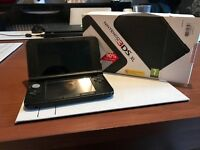 Nintendo 3DS XL BLACK- Perfect Condition & Several Games