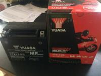 YTX 12 BS motorcycle battery