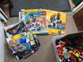 Box of lego - 80s/90s