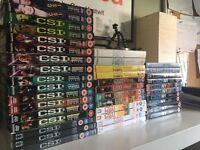 CSI DVDs - job lot