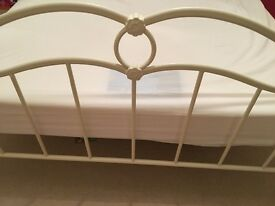 Nearly New Double Bed & Mattress