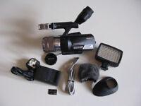 SONY Handycam NEX-VG10 *bundle & case