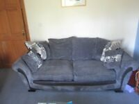 Large 3 seater grey Sofa