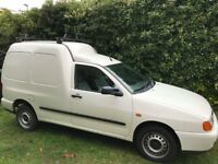 VW Volkswagon Caddy Van New MOT 75k miles.