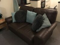 2 Two seat sofas for sale! £120 for both or next best offer