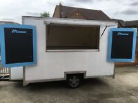 Mobile Catering Trailer / Burger Van Recently Refurbished Multi Use Trailer With Generator