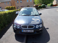 Rover 25, 5 door, 87,300 miles, MOT until March 2018