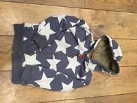 Mini Boden fleecy hoodie Aged 6-7