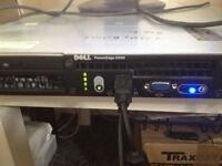 dell poweredge r200 2 x 1tb hard drives 6 gb ram