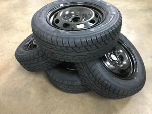 New 195/65R15 winter tire/rim package.