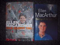 2 x Ellen MacArthur books