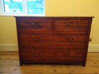Solid Wood Antique Chest of Drawers