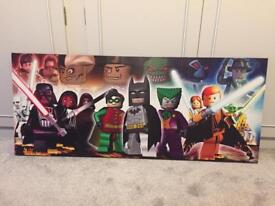Lego character canvas/picture