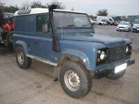 Land Rover Defender 90. 300 tdi automatic. P reg 1997.