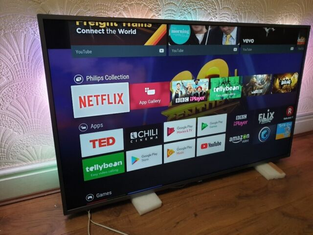 Philips 50PUS7303/12 50-Inch Ultra Slim 4K UHD LED Android Smart TV,HDR  Plus & Ambilight 3-sided   in Salford, Manchester   Gumtree