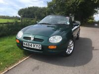 Completely original mgf. Good condition. New mot
