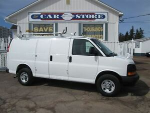 2010 Chevrolet Express 2500 2500 CARGO VAN!! LADDER RACK!! SPOT
