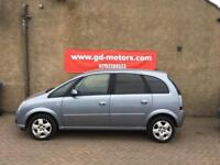 VAUXHALL MERIVA 1.4 (57) MOT 25/3/19 , WARRANTY NOT C MAX KANGOO ALTEA TOURAN FOCUS