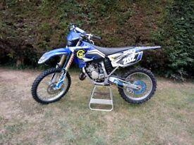 2005 Yamaha YZ125 MX Enduro road registered