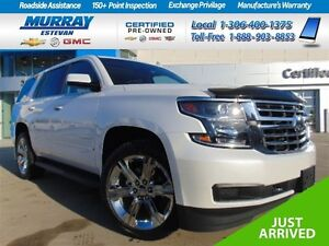 2016 Chevrolet Tahoe *Quads *Nav *DVD *22in wheels *Only 4900 KM