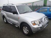 Mitsubishi SHOGUN DI-D GLS LWB Auto,5 door hatchback,full MOT,full heated leather interior,sunroof