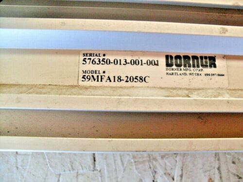 DORNER  59MFA18-2058C Adjustable Height Stand w/ Locking wheels